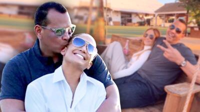 11 veces en las que JLo y Alex Rodríguez derritieron las redes con sus muestras de amor