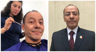 De Homero Ferruzca a Felipe Alarcón, así se transforma el actor para la serie 'El Chapo'