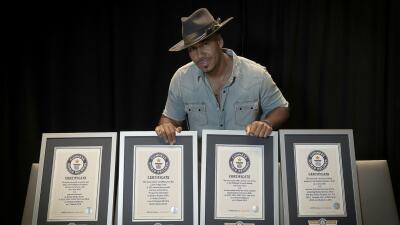 Romeo Santos plasma su nombre en la lista de los Guinness World Records y hace historia en la música