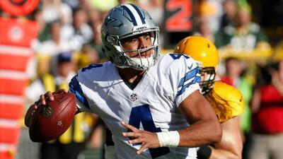 Dak Prescott iniciará en la Semana 8 para el Cowboys vs. Eagles