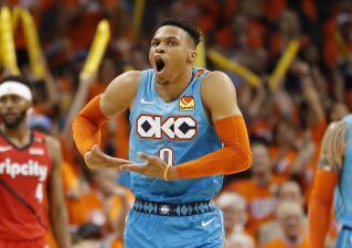 En fotos: Russell Westbrook le devolvió la esperanza a Oklahoma City Thunder en la Conferencia Oeste