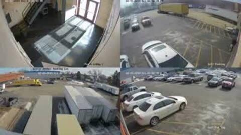 Video de vigilancia muestra gatillero después de abrir fuego en la fábrica Henry Pratt en Aurora