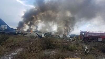Más de 60 pasajeros del avión de Aeroméxico accidentado ya fueron dados de alta