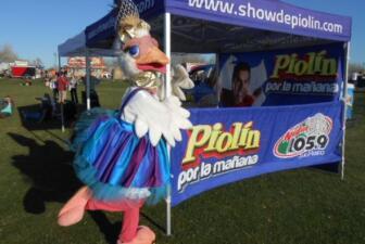 Fito Olivares presente en el Ostrich Festival
