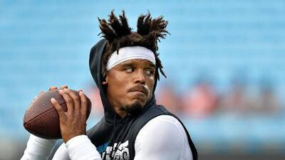 Se confirma que Cam Newton no jugará ante los Houston Texans