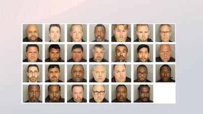 Detienen a 27 sujetos acusados de solicitar prostitución