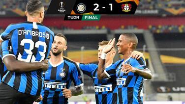Inter cumple pronósticos y es semifinalista de la Europa League