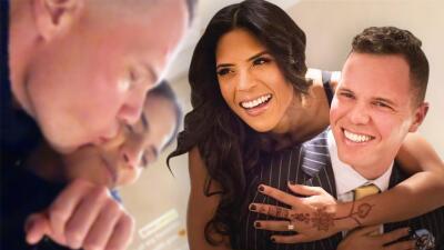 Una imagen que habla por sí sola: la foto que resume el gran amor entre Francisca y Francesco