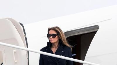 Mientras no vivió en la Casa Blanca, Melania gastó 675,000 dólares en viajes a Washington y Florida