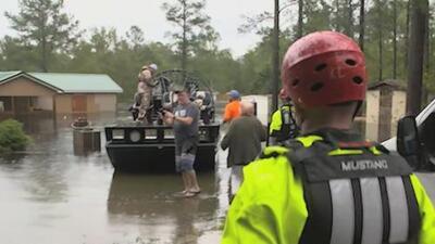 Wilmington quedó aislada del resto de Carolina del Norte tras inundaciones por Florence