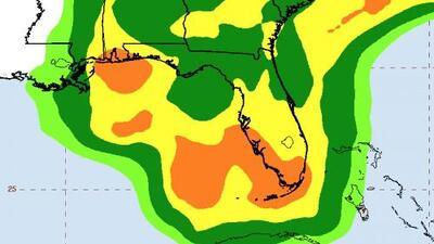 Alberto, la primera tormenta subtropical de la temporada, amenaza con inundaciones este fin de semana