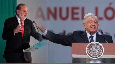 López Obrador y Carlos Slim se reconcilian, celebran y se apoyan en 'El Mañanero de AMLO'