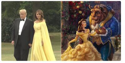 """""""Realmente nos importa"""", ¿a ti sí?: memes de los vestidos de Melania Trump"""