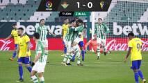 Triunfo del Betis a lo 'América': asistencia de Lainez y gol de Guido