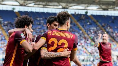 Roma gana 4-1 al Lazio en el derbi de la capital italiana