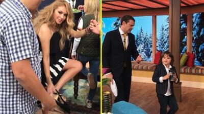 Detrás de cámaras: Alan se hizo muy amigo del hijo de Pau, y ella no soportó sus zapatos