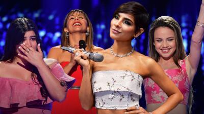 EN FOTOS: lluvia de emociones en el debut de Reina de la Canción