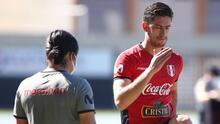 Perú descarta a Santiago Ormeño para debut ante Brasil