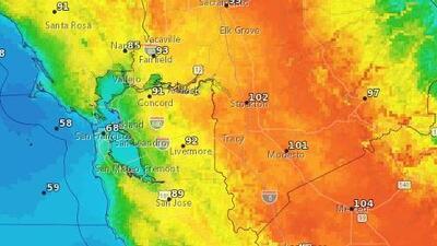 Pronóstico: se espera calor para este jueves en el Área de la Bahía