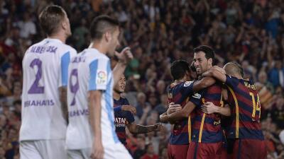 Barcelona 1-0 Málaga: Vermaelen se estrena en la Liga para darle el triunfo al Barça