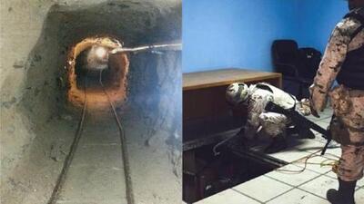 El ejército mexicano reporta hallazgo de un túnel en Tijuana