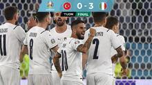 ¡Mucha forza! Italia inaugura la Euro 2020 con goleada a Turquía