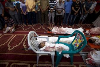 Muerte, destrucción y éxodo en Franja de Gaza