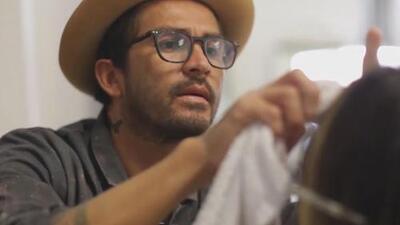 Johnny Ramirez: El hairdresser de las estrellas en Beverly Hills
