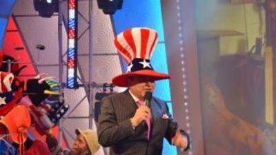 Sábado Gigante es más patriota que nunca