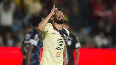¡Se acabó la mala suerte! Oribe Peralta marca gol después de 5 meses