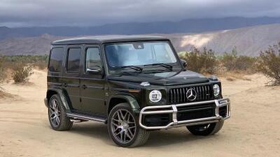 La nueva Mercedes-Benz Clase-G es innecesariamente prodigiosa