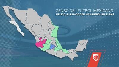 Censo del futbol mexicano: Jalisco, el estado con más futbol en el país