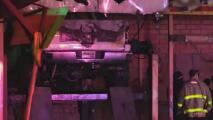 Se incendia un taller mecánico en San Antonio
