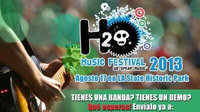 Llega de nuevo el H2O MUSIC FESTIVAL tu tienes que ser parte!