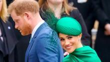 Meghan Markle reaparece con vestido de Óscar de la Renta tras anunciar su segundo embarazo con Harry
