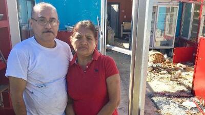 Sueños rotos: el huracán Michael arrasó con el trabajo de 15 años de estos mexicanos