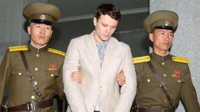 En video: Muere estudiante estadounidense que fue liberado por Corea del Norte