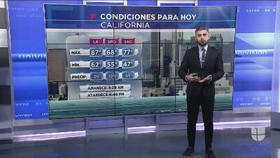 Primera tormenta invernal llegará al sur de California este martes