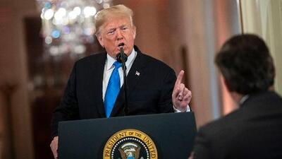 Trump insiste en levantar el muro, fortalecido por los resultados en las elecciones de medio término