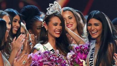 Miss Filipinas, Catriona Gray, gana la corona de Miss Universo 2018