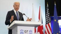 Errores y faltas protocolarias: los momentos virales de Biden en la cumbre del G7