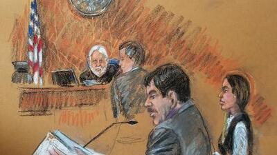 """""""Agresivo y ofensivo"""": el inesperado comportamiento de 'El Chapo' ante el juez, según periodista"""
