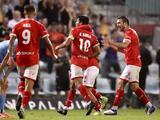 Gol de Ulises Dávila con Wellington Phoenix ante Melbourne City