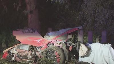 Un hombre y una mujer, las víctimas de un accidente mortal ocurrido en Encino