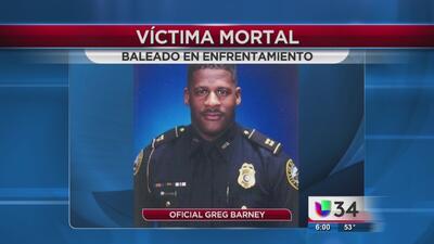 Muere policía baleado en Atlanta