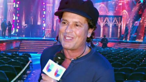 Carlos Vives, emocionado de compartir el escenario con Sebastián Yatra en los Latin GRAMMY