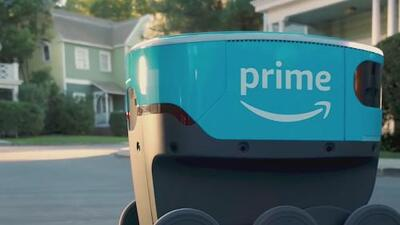 Primera Hora: Amazon lanza 'Scout', un robot que reparte paquetes por correo