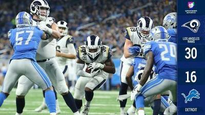 Rams conquistan la División Oeste y sueñan con el Super Bowl