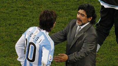 "Diego Maradona criticando a Lionel Messi: ""¿Sos argentino o sueco?"""
