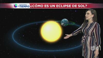 ¿Cómo se ve un eclipse solar?